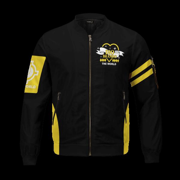 dio brando bomber jacket 741641 - Anime Jacket