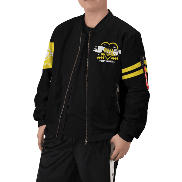 dio brando bomber jacket 791010 - Anime Jacket