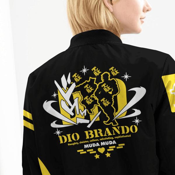 dio brando bomber jacket 884491 - Anime Jacket
