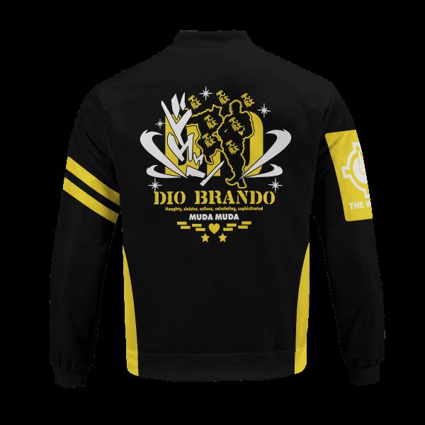 dio brando bomber jacket 980383 - Anime Jacket