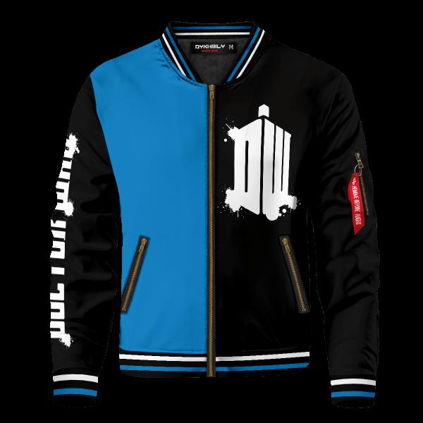 doctor who black blue bomber jacket 925592 - Anime Jacket