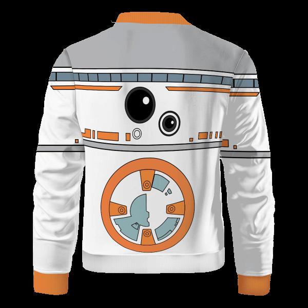 droid bb8 bomber jacket 469036 - Anime Jacket