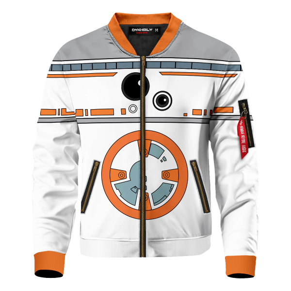 droid bb8 bomber jacket 531517 - Anime Jacket