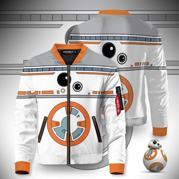 droid bb8 bomber jacket 795322 - Anime Jacket