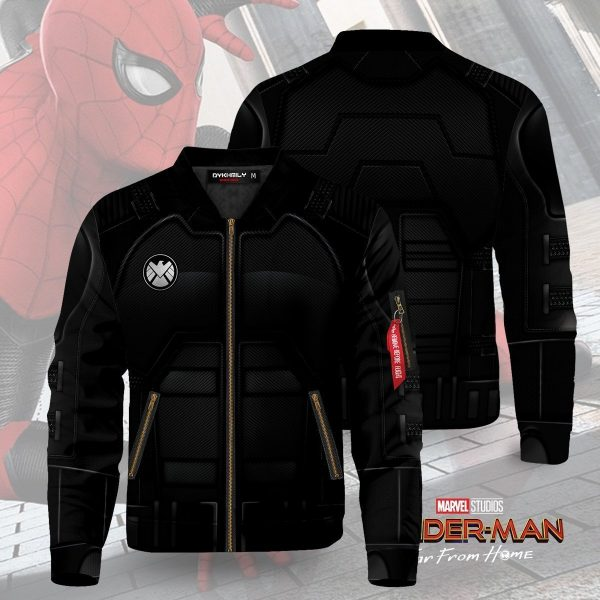 far from home stealth suit bomber jacket 121612 - Anime Jacket