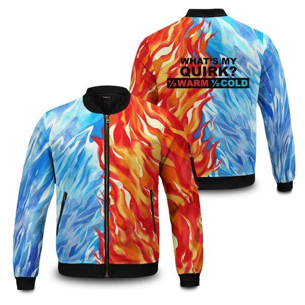 fire and ice todoroki shoto bomber jacket 196603 - Anime Jacket