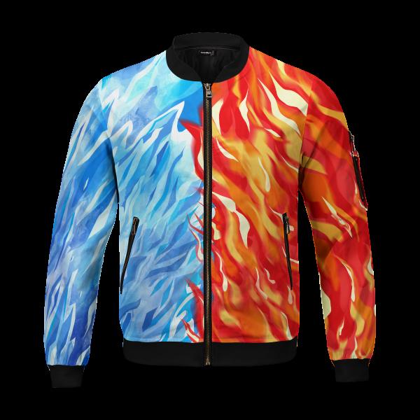 fire and ice todoroki shoto bomber jacket 304736 - Anime Jacket