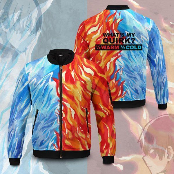 fire and ice todoroki shoto bomber jacket 514592 - Anime Jacket