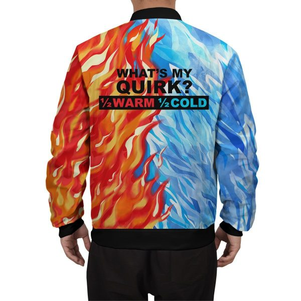 fire and ice todoroki shoto bomber jacket 539363 - Anime Jacket