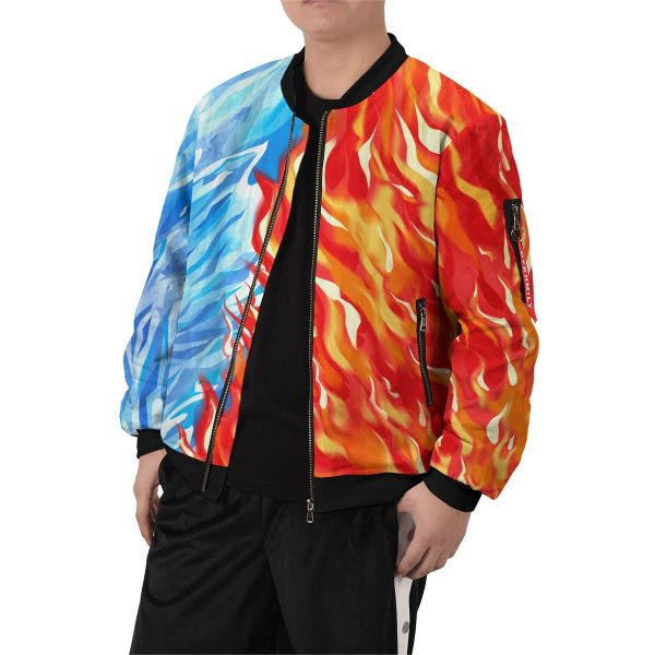 fire and ice todoroki shoto bomber jacket 746937 - Anime Jacket