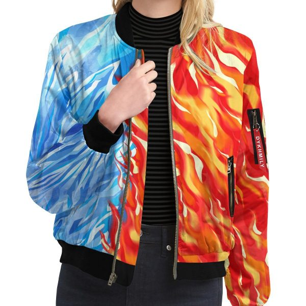 fire and ice todoroki shoto bomber jacket 922988 - Anime Jacket