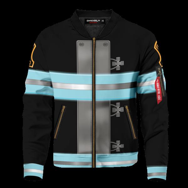 fire force bomber jacket 612208 - Anime Jacket