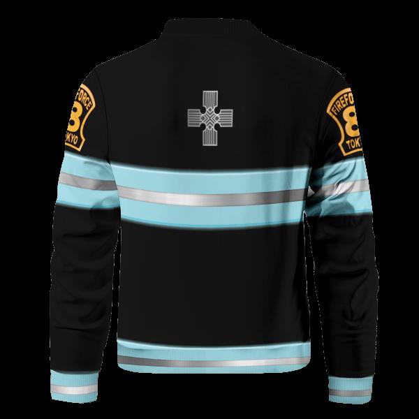 fire force bomber jacket 913395 - Anime Jacket