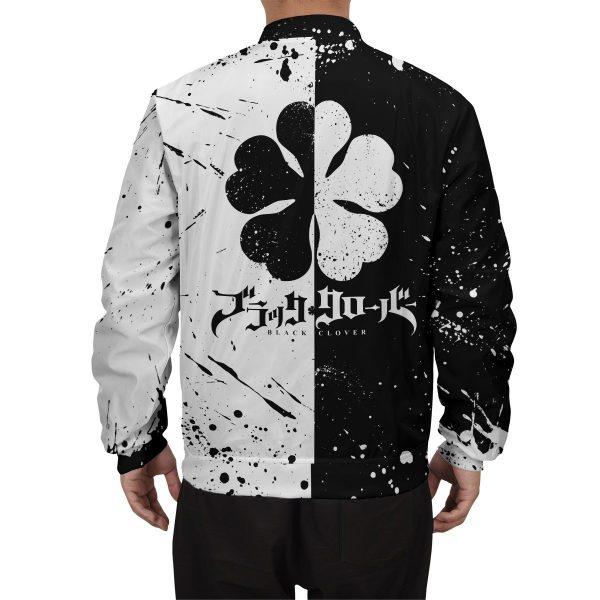 five leaf clover bomber jacket 210888 - Anime Jacket