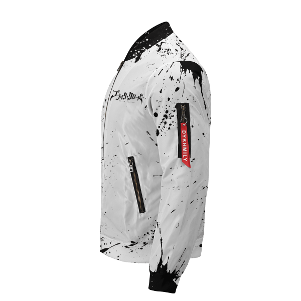 five leaf clover bomber jacket 268820 - Anime Jacket