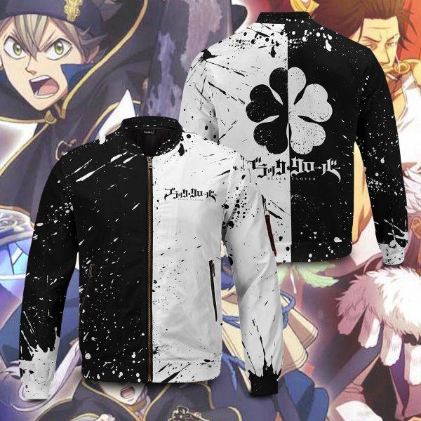 five leaf clover bomber jacket 930711 - Anime Jacket