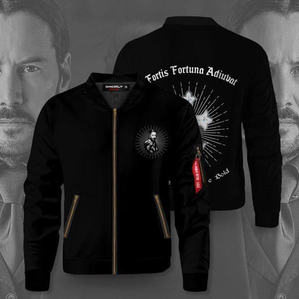 fortis fortuna adiuvat bomber jacket 602379 - Anime Jacket