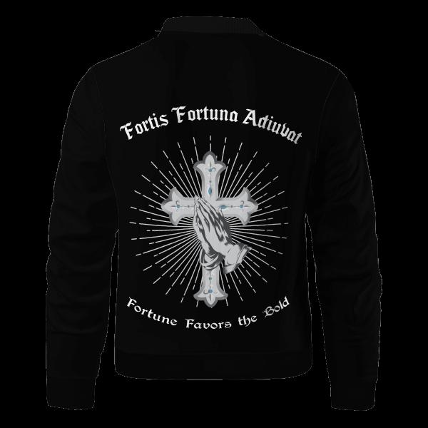fortis fortuna adiuvat bomber jacket 895924 - Anime Jacket