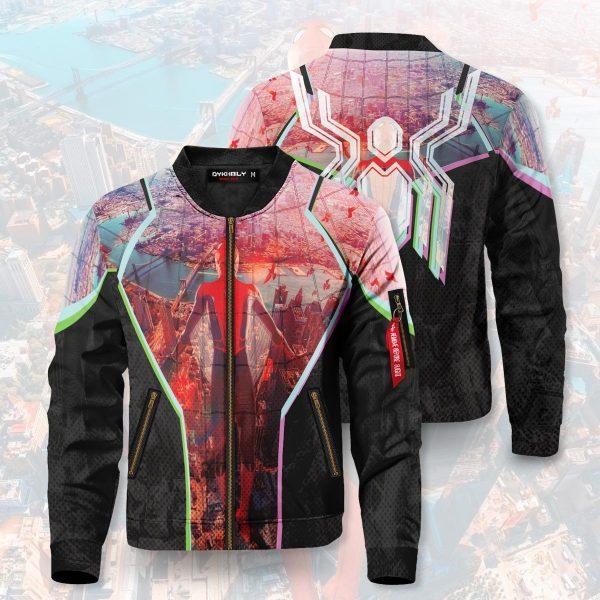 friendly neighborhood hero bomber jacket 257827 - Anime Jacket