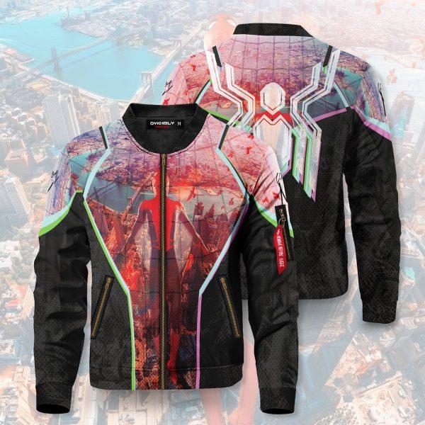 friendly neighborhood hero signed bomber jacket 446911 - Anime Jacket