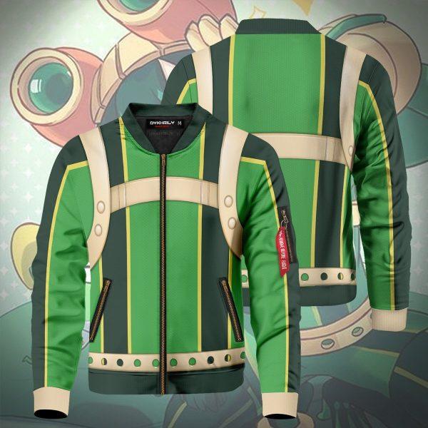 froppy tsuyu asui bomber jacket 467700 - Anime Jacket