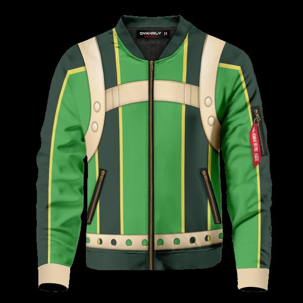 froppy tsuyu asui bomber jacket 937398 - Anime Jacket