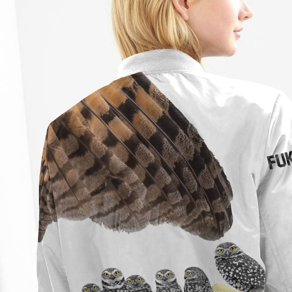 fukurodani owl bomber jacket 604144 - Anime Jacket