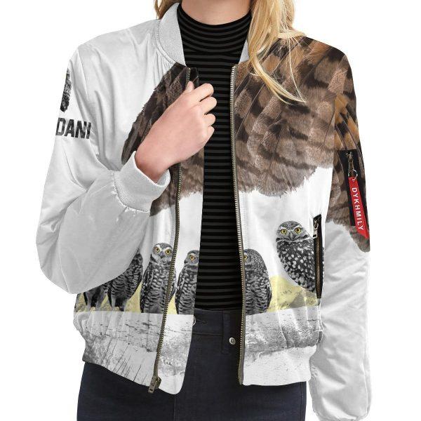 fukurodani owl bomber jacket 753450 - Anime Jacket