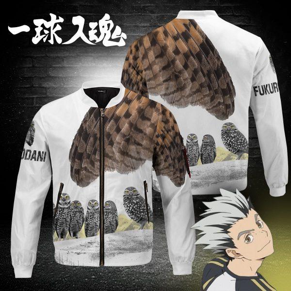 fukurodani owl bomber jacket 789280 - Anime Jacket