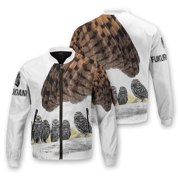 fukurodani owl bomber jacket 811680 - Anime Jacket