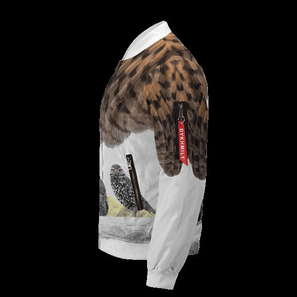 fukurodani owl bomber jacket 987536 - Anime Jacket