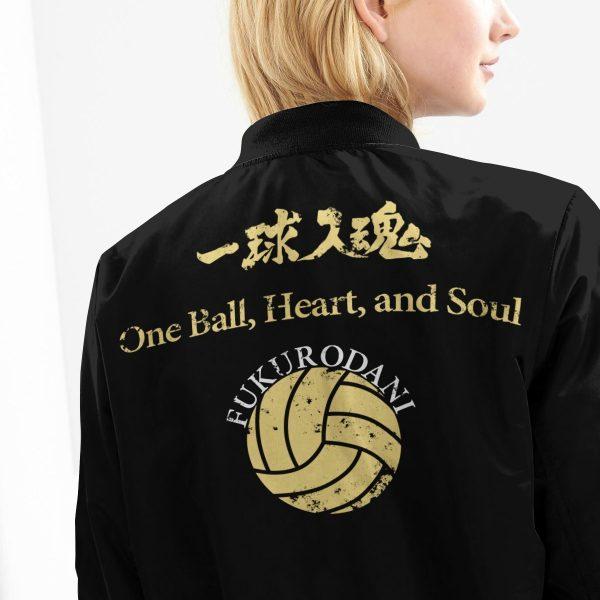 fukurodani rally bomber jacket 778707 - Anime Jacket