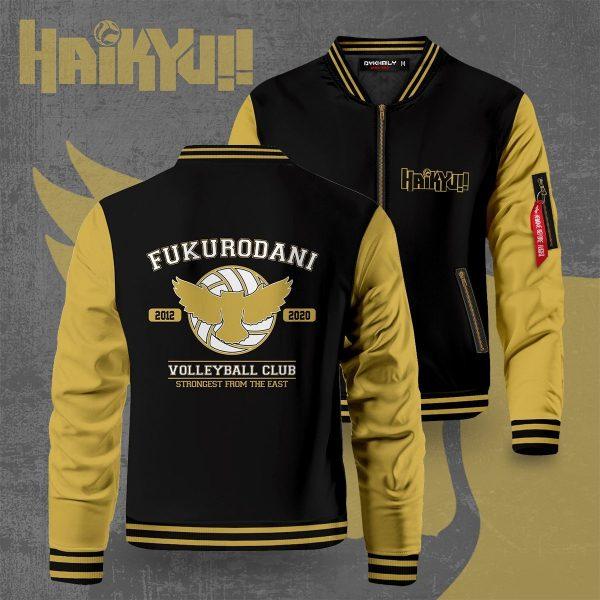 fukurodani strongest from the east bomber jacket 654679 - Anime Jacket