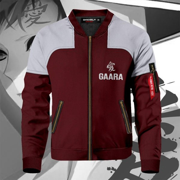 gaara bomber jacket 406357 - Anime Jacket