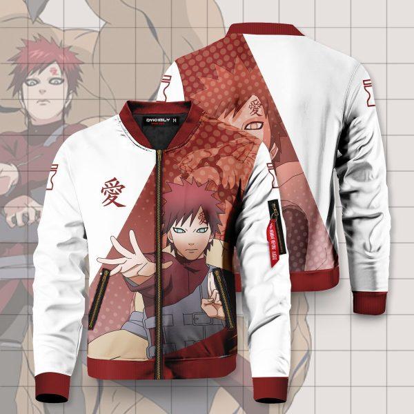 gaara of the sand bomber jacket 604334 - Anime Jacket