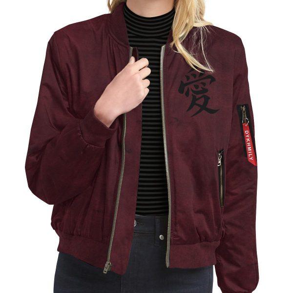 gaara shukaku bomber jacket 196083 - Anime Jacket