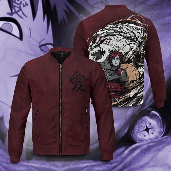 gaara shukaku bomber jacket 221057 - Anime Jacket