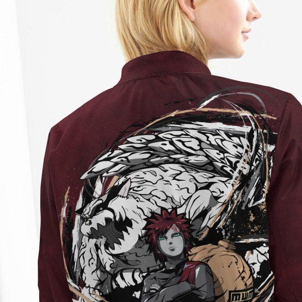 gaara shukaku bomber jacket 303507 - Anime Jacket
