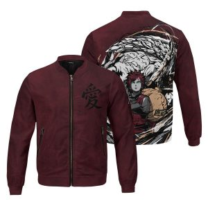 gaara shukaku bomber jacket 624018 - Anime Jacket
