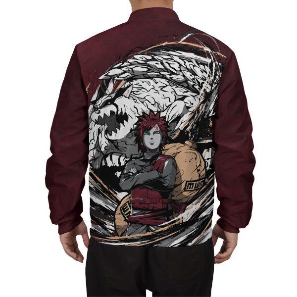 gaara shukaku bomber jacket 643237 - Anime Jacket