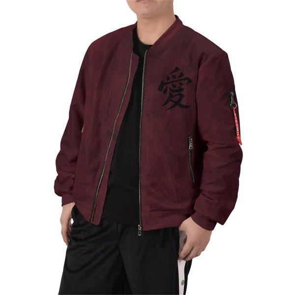 gaara shukaku bomber jacket 878667 - Anime Jacket