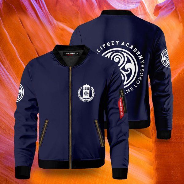 gallifrey academy bomber jacket 447563 - Anime Jacket
