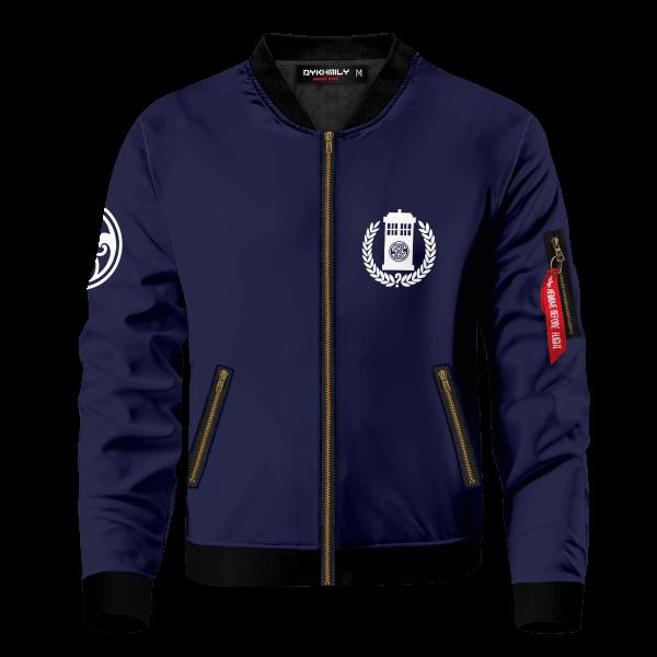 gallifrey academy bomber jacket 533069 - Anime Jacket