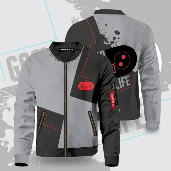gamer for life bomber jacket 505184 - Anime Jacket