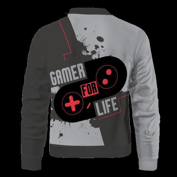 gamer for life bomber jacket 600138 - Anime Jacket