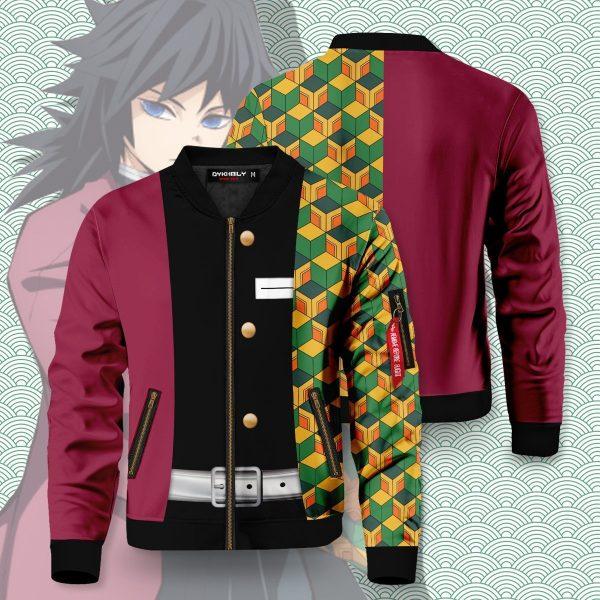 giyu tomioka bomber jacket 654984 - Anime Jacket