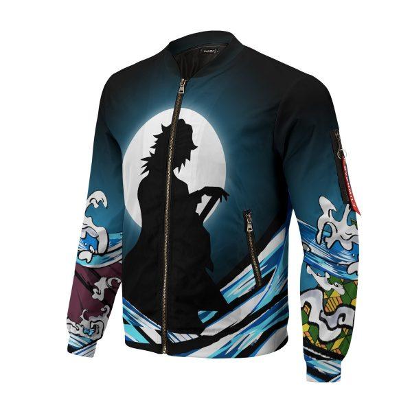 giyu water style bomber jacket 299825 - Anime Jacket