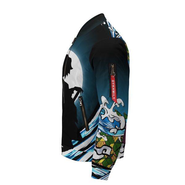 giyu water style bomber jacket 401059 - Anime Jacket