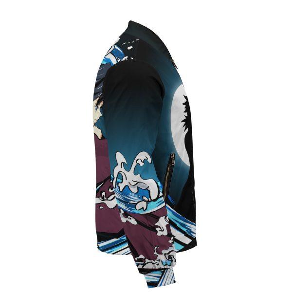 giyu water style bomber jacket 751141 - Anime Jacket