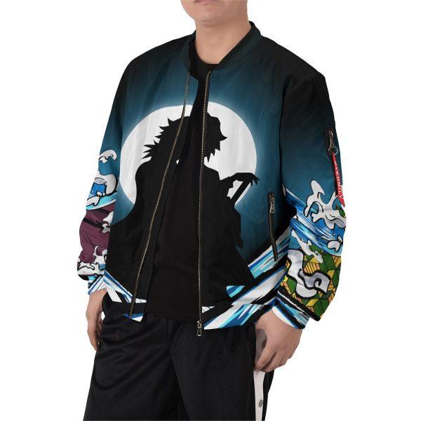 giyu water style bomber jacket 922476 - Anime Jacket